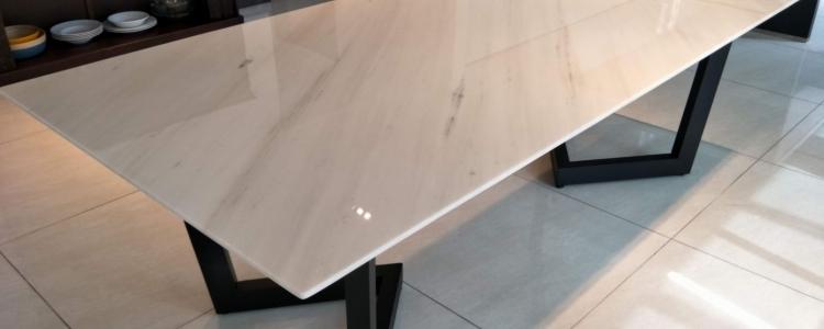 Мрамор Сивек стол из камня