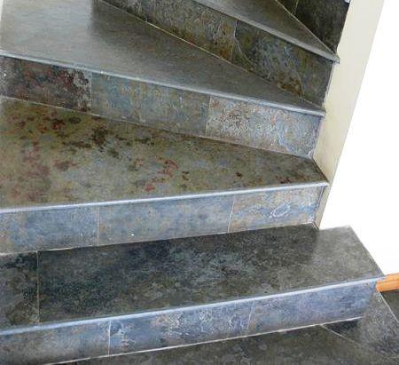 лестница из сланца Мультиколор фото